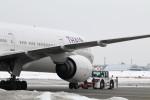 GRX135さんが、新千歳空港で撮影したタイ国際航空 777-3D7の航空フォト(写真)