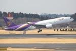 じゃがさんが、成田国際空港で撮影したタイ国際航空 777-2D7の航空フォト(写真)