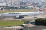 たみぃさんが、台北松山空港で撮影した日本航空 767-346/ERの航空フォト(写真)