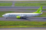 PASSENGERさんが、羽田空港で撮影したソラシド エア 737-46Qの航空フォト(写真)