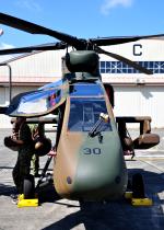 チャーリーマイクさんが、立川飛行場で撮影した陸上自衛隊 OH-1の航空フォト(写真)