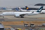 euro_r302さんが、関西国際空港で撮影したキャセイパシフィック航空 A350-941XWBの航空フォト(写真)