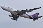 euro_r302さんが、関西国際空港で撮影したタイ国際航空 747-4D7の航空フォト(写真)