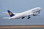 りんきゅーさんが、中部国際空港で撮影したルフトハンザ・カーゴ 777-FBTの航空フォト(写真)