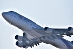 うめたろうさんが、関西国際空港で撮影したタイ国際航空 747-4D7の航空フォト(写真)