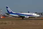 MOHICANさんが、福岡空港で撮影したANAウイングス 737-54Kの航空フォト(写真)