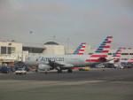 しかばねさんが、ロサンゼルス国際空港で撮影したアメリカン航空 A319-132の航空フォト(写真)