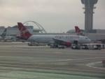 しかばねさんが、ロサンゼルス国際空港で撮影したヴァージン・アメリカ A320-214の航空フォト(写真)