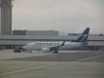 しかばねさんが、ロサンゼルス国際空港で撮影したウェストジェット 737-7CTの航空フォト(写真)
