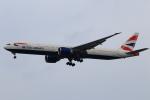 ★azusa★さんが、シンガポール・チャンギ国際空港で撮影したブリティッシュ・エアウェイズ 777-36N/ERの航空フォト(写真)