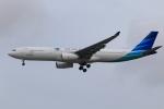★azusa★さんが、シンガポール・チャンギ国際空港で撮影したガルーダ・インドネシア航空 A330-343Xの航空フォト(写真)