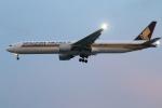 ★azusa★さんが、シンガポール・チャンギ国際空港で撮影したシンガポール航空 777-312の航空フォト(写真)