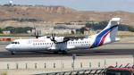 誘喜さんが、マドリード・バラハス国際空港で撮影したスウィフトエア ATR-72-500 (ATR-72-212A)の航空フォト(写真)