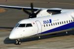 鈴鹿@風さんが、中部国際空港で撮影したANAウイングス DHC-8-402Q Dash 8の航空フォト(写真)