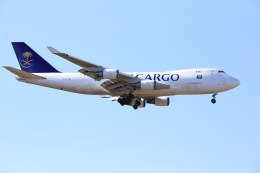 おっしーさんが、成田国際空港で撮影したサウディア 747-428F/ER/SCDの航空フォト(写真)