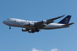 木人さんが、成田国際空港で撮影したサウディア 747-428F/ER/SCDの航空フォト(写真)