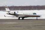 北の熊さんが、新千歳空港で撮影したJetport Inc  1125 Astra SPXの航空フォト(写真)