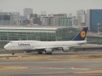 とりてつさんが、羽田空港で撮影したルフトハンザドイツ航空 747-830の航空フォト(写真)