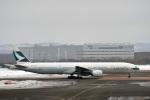 なないろさんが、新千歳空港で撮影したキャセイパシフィック航空 777-367の航空フォト(写真)