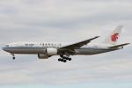安芸あすかさんが、成田国際空港で撮影した中国国際航空 777-2J6の航空フォト(写真)