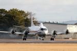 ケロたんさんが、名古屋飛行場で撮影した海上自衛隊 UP-3Cの航空フォト(写真)