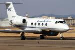 ケロたんさんが、名古屋飛行場で撮影したダイヤモンド・エア・サービス G-1159 Gulfstream IIの航空フォト(写真)
