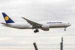 Y-Kenzoさんが、成田国際空港で撮影したルフトハンザ・カーゴ 777-FBTの航空フォト(写真)