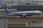 じゃがさんが、羽田空港で撮影した全日空 767-381/ERの航空フォト(写真)