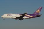 HEATHROWさんが、成田国際空港で撮影したタイ国際航空 A380-841の航空フォト(写真)