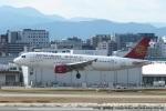 tabi0329さんが、福岡空港で撮影した吉祥航空 A320-214の航空フォト(写真)