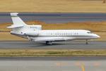 PASSENGERさんが、羽田空港で撮影したアメリカ個人所有 Falcon 7Xの航空フォト(写真)