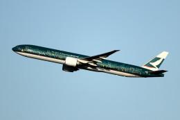Gメンさんが、成田国際空港で撮影したキャセイパシフィック航空 777-367/ERの航空フォト(写真)