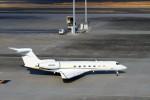 ハム太郎さんが、羽田空港で撮影したウェルズ・ファーゴ・バンク・ノースウェスト G500/G550 (G-V)の航空フォト(写真)