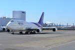 デルタおA330さんが、羽田空港で撮影したタイ国際航空 747-4D7の航空フォト(写真)