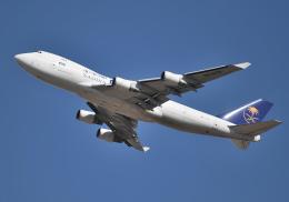 雲霧さんが、成田国際空港で撮影したサウディア 747-428F/ER/SCDの航空フォト(写真)