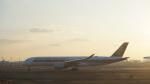 fusa-skyさんが、羽田空港で撮影したシンガポール航空 A350-941XWBの航空フォト(写真)