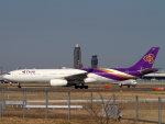 Mame @ TYOさんが、成田国際空港で撮影したタイ国際航空 A330-343Xの航空フォト(写真)