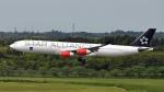 成田国際空港 - Narita International Airport [NRT/RJAA]で撮影されたスカンジナビア航空 - Scandinavian Airlines System [SK/SAS]の航空機写真
