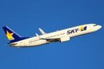 ばっきーさんが、羽田空港で撮影したスカイマーク 737-82Yの航空フォト(写真)