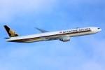 ばっきーさんが、羽田空港で撮影したシンガポール航空 777-312/ERの航空フォト(写真)