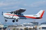 よっしぃさんが、八尾空港で撮影した朝日航空 172S Skyhawk SP IIの航空フォト(写真)