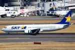 ばっきーさんが、羽田空港で撮影したスカイマーク 737-8HXの航空フォト(写真)