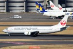 ばっきーさんが、羽田空港で撮影した日本トランスオーシャン航空 737-446の航空フォト(写真)