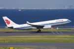 PASSENGERさんが、羽田空港で撮影した中国国際航空 A330-243の航空フォト(写真)
