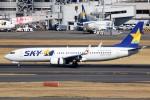 ばっきーさんが、羽田空港で撮影したスカイマーク 737-81Dの航空フォト(写真)