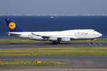PASSENGERさんが、羽田空港で撮影したルフトハンザドイツ航空 747-430の航空フォト(写真)