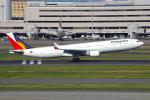 PASSENGERさんが、羽田空港で撮影したフィリピン航空 A330-301の航空フォト(写真)