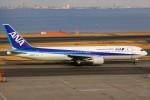 ばっきーさんが、羽田空港で撮影した全日空 767-381の航空フォト(写真)