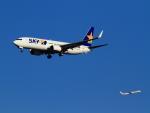 武彩航空公司(むさいえあ)さんが、羽田空港で撮影したスカイマーク 737-8FZの航空フォト(写真)