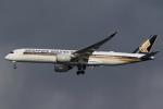 kosiさんが、羽田空港で撮影したシンガポール航空 A350-941XWBの航空フォト(写真)
